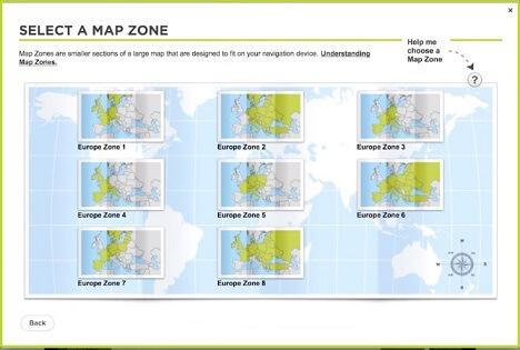 Installeren van een zone van mappen