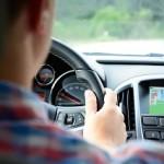 autonavigatie en muziek luisteren