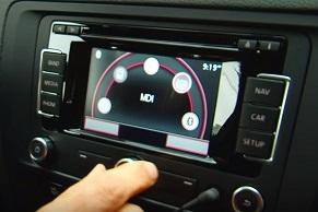 ingebouwde autonavigatie met media functies