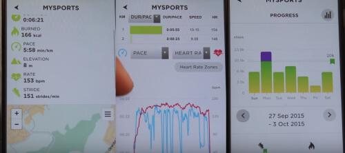 TomTom MySports web app