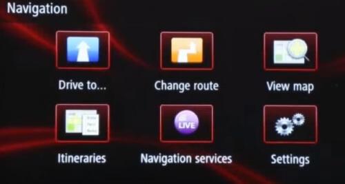 R-link instellingen navigatie