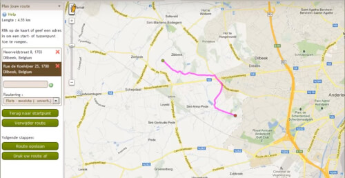 Routeyou routes importeren