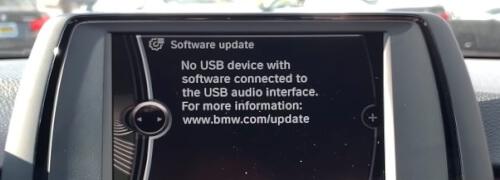 BMW software update