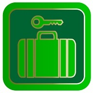 TSA-slot op koffer