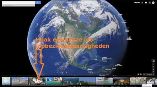 Google earth en street view