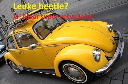 Volkswagen schandaal beetle