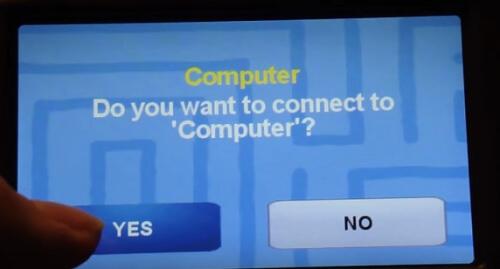 navigatie verbinden met PC