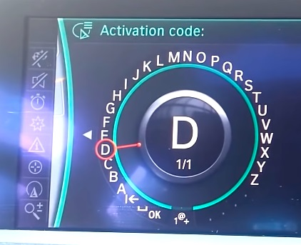 activeringscode BMW navigatie ingeven